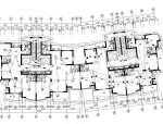 某小区商住楼平面图