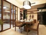 某现代古典一室两厅住宅室内装修设计实景图(19张)