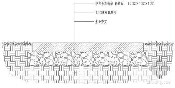 汀步剖面详图-4