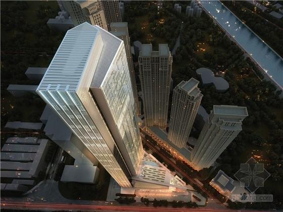 [四川]现代风格办公及酒店综合体建筑设计方案文本
