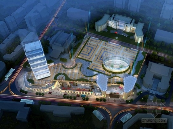 [贵州]核心地块商业广场建筑概念性设计方案文本