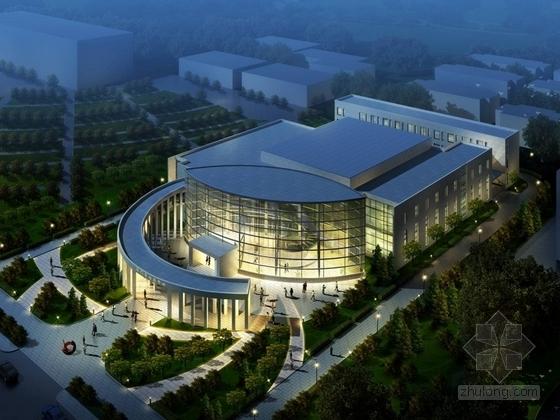 [甘肃]高层现代风格行政办公区规划及单体设计方案文本(知名设计院)