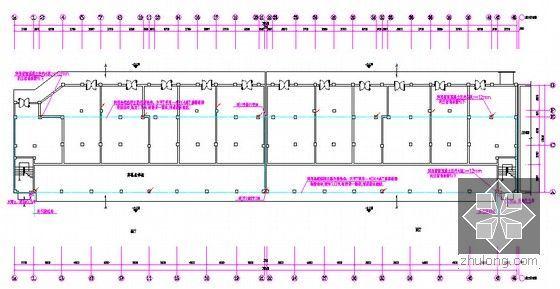 [安徽]三栋小区居民楼建设安装工程预算书(全套图纸软件文件)-基础接地平面图