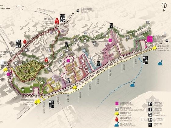 [福州]历史风貌区山体地块景观提升规划方案