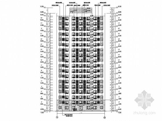[沈阳]18层装配式剪力墙结构公租房结构图(含建筑图)