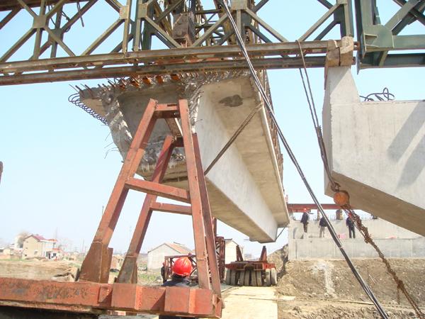 装配式部分预应力混凝土连续箱梁施工关键技术