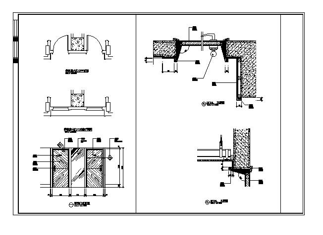 五星级标准酒店客房施工图