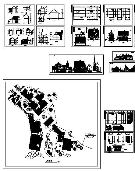 700套住宅小区民居规划设计方案(超全)