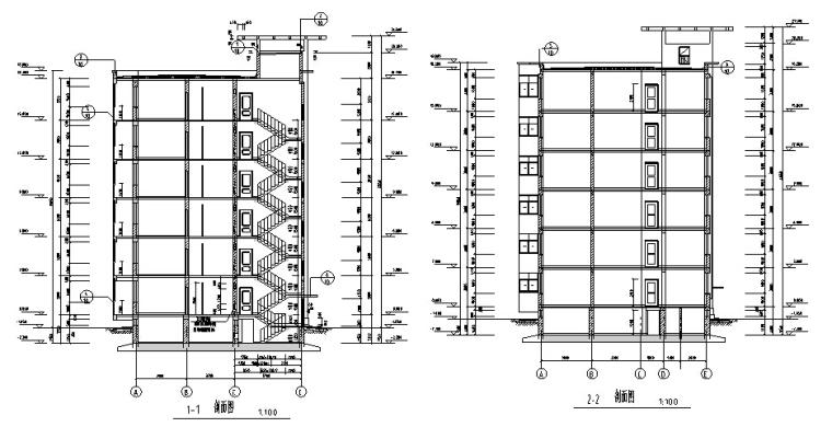 小区住宅楼土建及安装工程全套预算(含建筑结构图纸)_4
