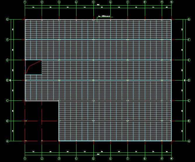 门式刚架带夹层结构二层厂房建筑结构施工图_5