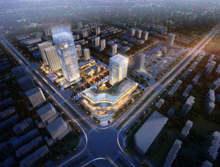 [上海]UA国际青浦区商业购物中心建筑设计方案文本