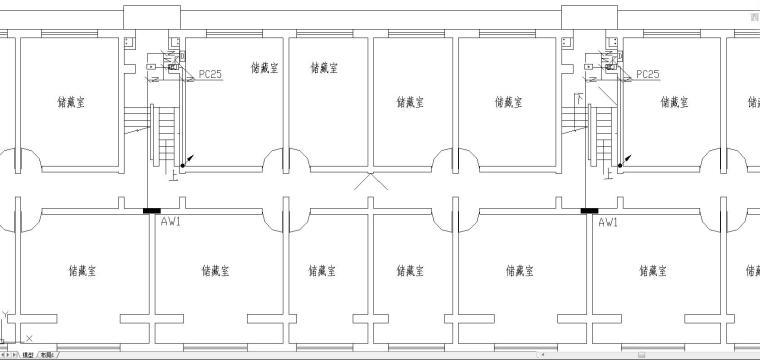 VV住宅资料下载-标准住宅电气图