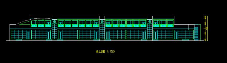 多层现代风格8班幼儿院施工图