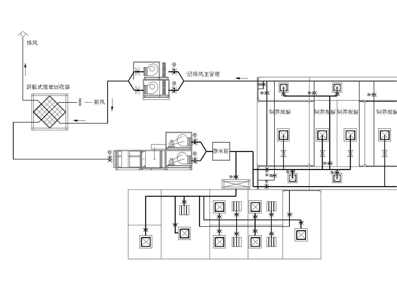 一层实验室空调系统图图片