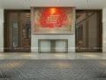 内蒙古银行新中式室内设计,传统与现代完美结合!