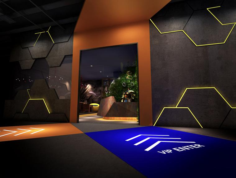 内蒙古乌海格调网咖-内蒙古乌海格调网咖设计案例第1张图片