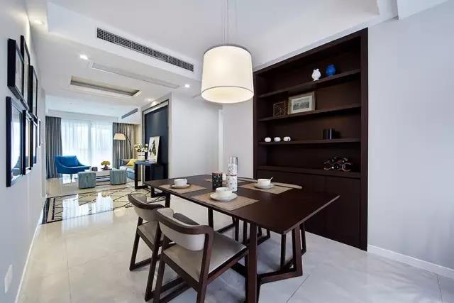 [青岛九天德]青岛室内装修|青岛二手房装修|中式餐厅装修设计