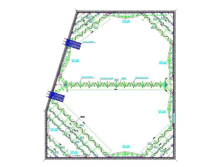 15米深基坑预应力鱼腹梁装配式钢支撑支护设计方案