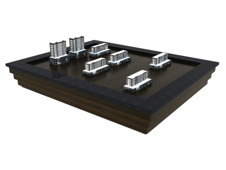 小沙盘3D模型下载