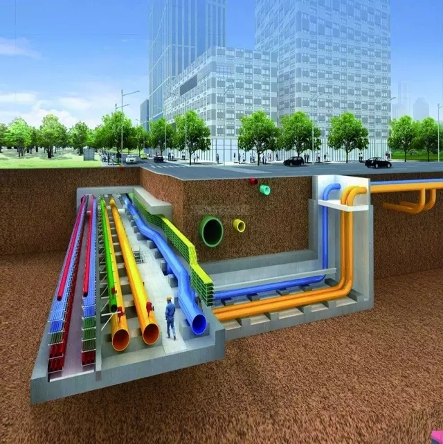 地下综合管廊通风系统设计、施工方案