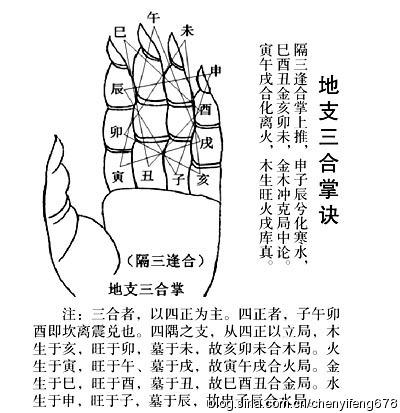陈益峰:八字中的三合拱与三会夹_1