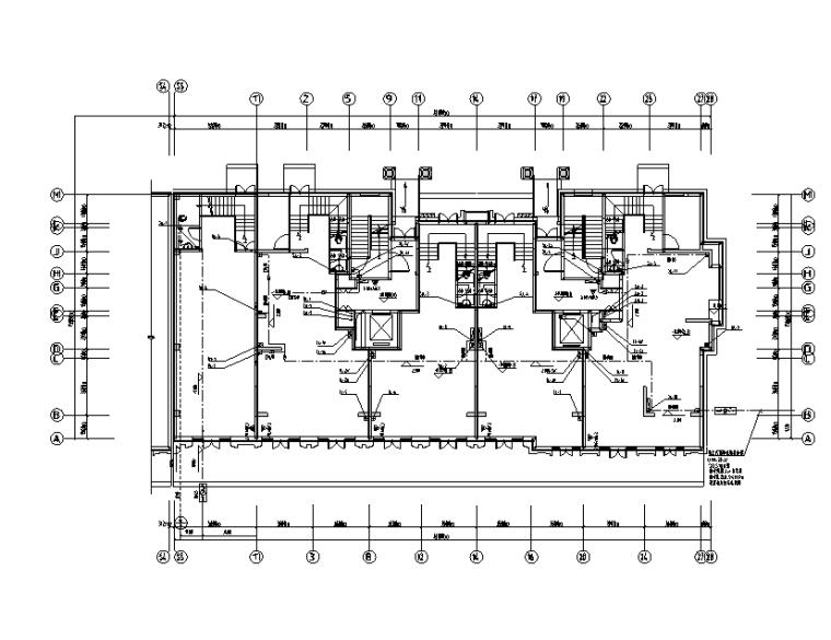 山东十八层住宅楼给排水设计施工图