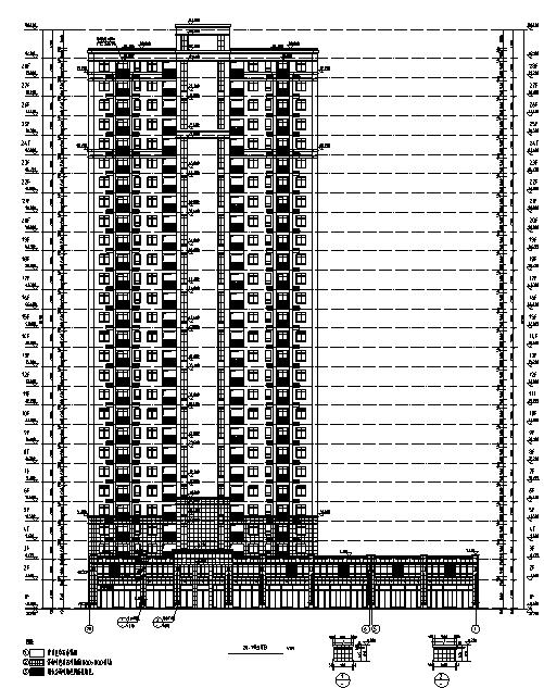 [安徽]某17栋住宅楼居住小区设计(含全专业施工图及节能设计)
