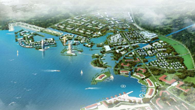 [江苏]泗阳成子湖旅游度假区总体规划设计