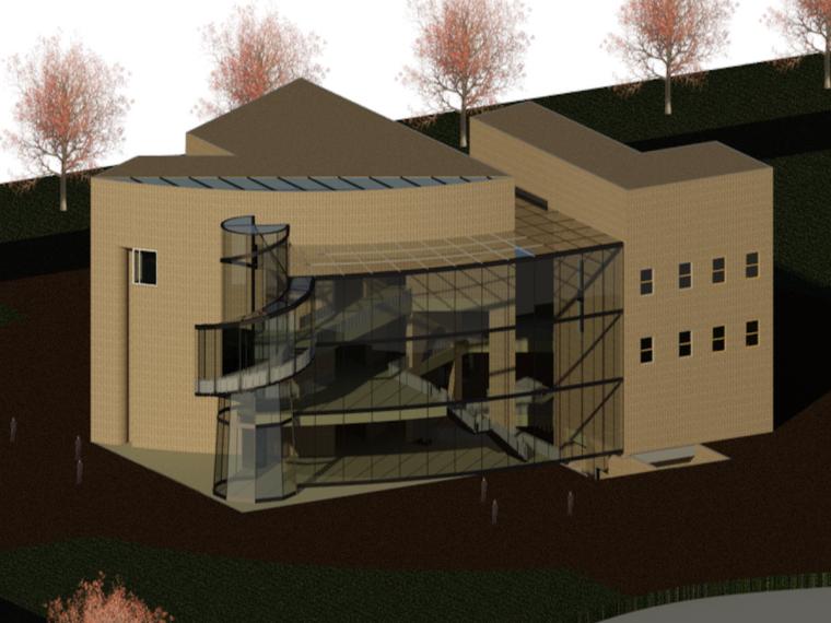 BIM模型-revit模型-历史博物馆