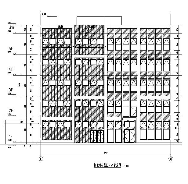 [广东]高层科技园地上办公及地下室建筑施工图(送审全套施工图)