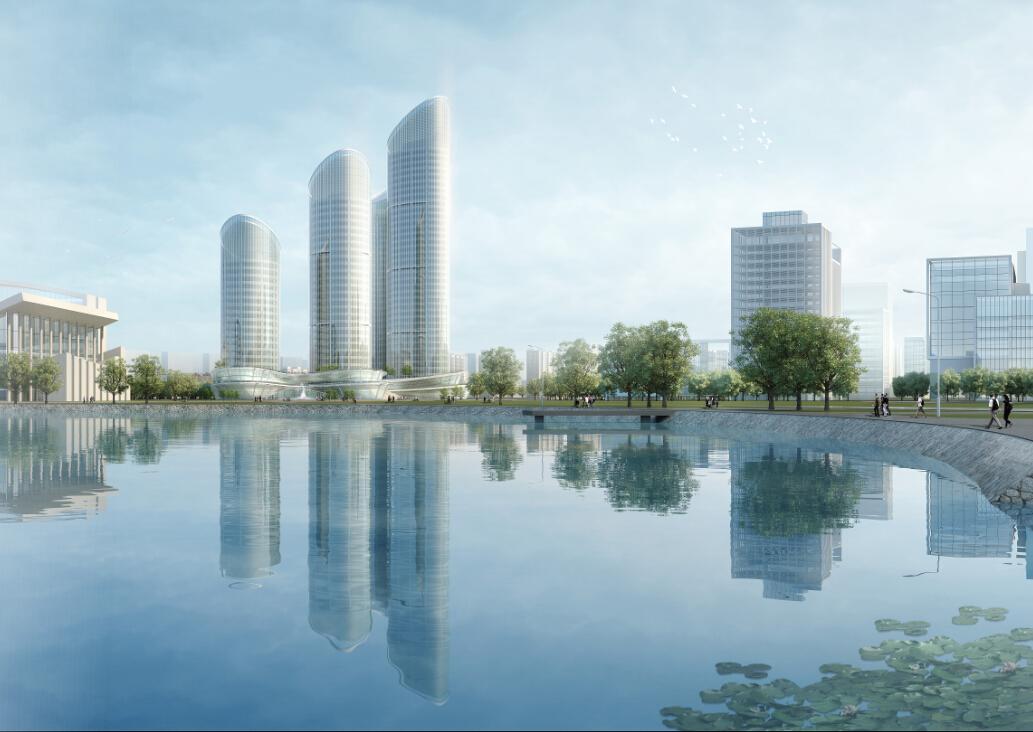 [方案][东莞]超高层地标性设计综合体建筑设计方案饰品(含3套文本)江苏3d方案招聘办公图片