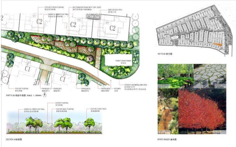 [北京]某复地元墅住宅规划设计方案(手绘)