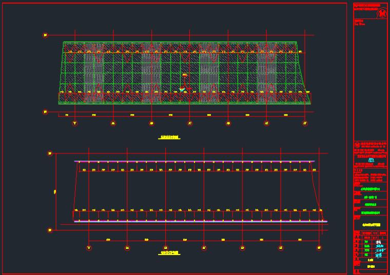 室内步行街采光顶幕墙结构施工图_8
