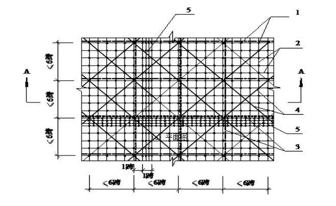 插槽式钢管模板支撑架搭设方案_4