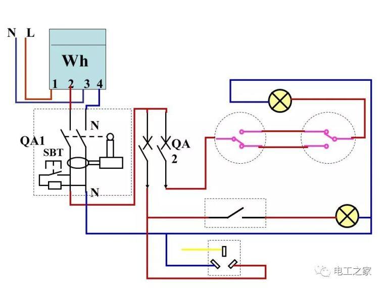 全彩图深度详解照明电路和家用线路_37