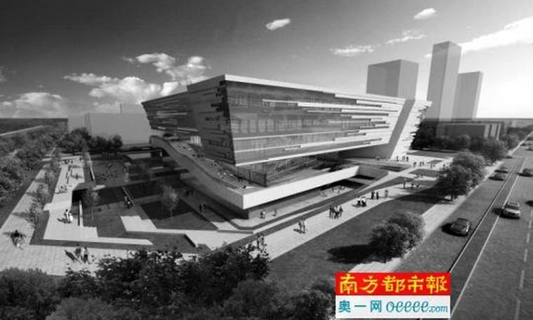 广州最大区属图书馆开工,预计2019年完工