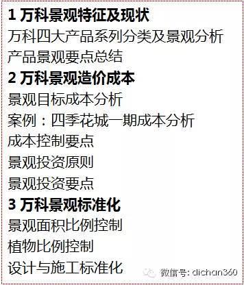 中海对:万科景观设计研发的专业评价,非常犀利