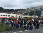 突发!台湾高速列车出轨,已致22亡101伤!