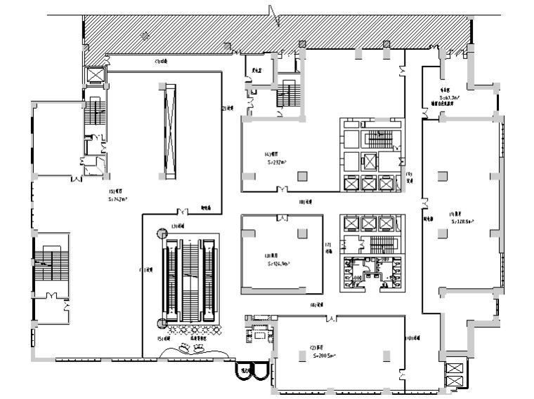 [新疆]9600平米新世纪餐饮空间设计施工图(附效果图)