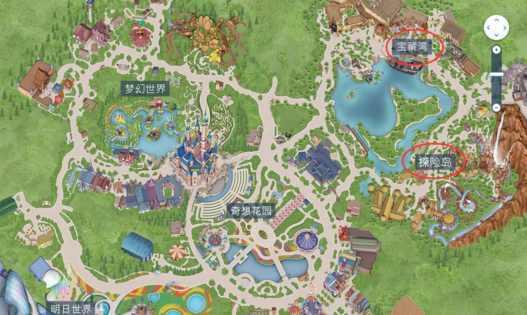 迪士尼全景图
