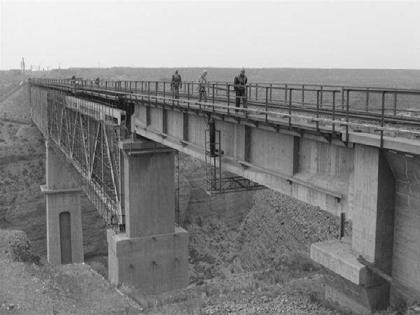 重载运输下的铁路简支钢桁梁桥桥墩加固设计