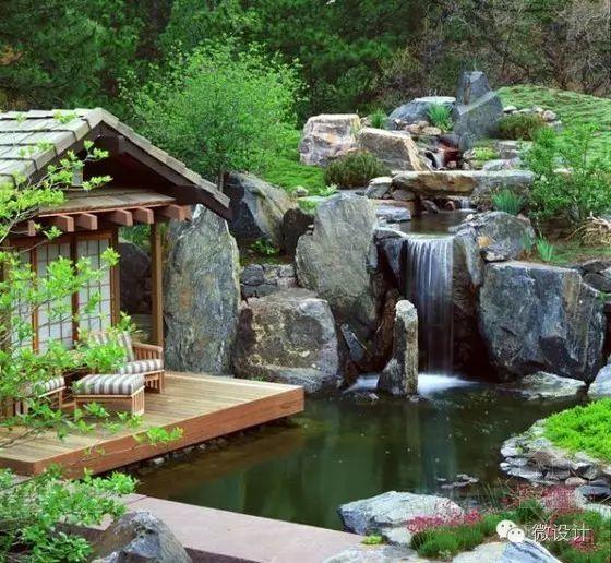 有了院子,一定要造一个水景_16