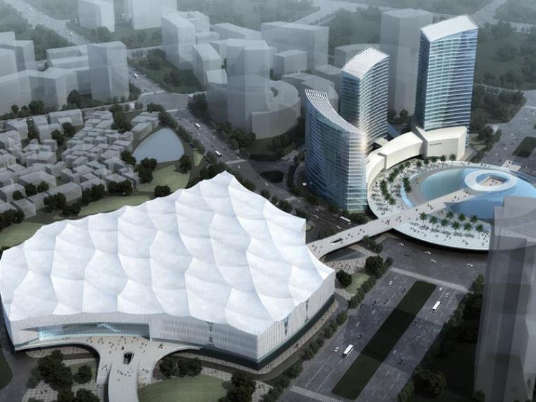 [福建]泉州会展中心建筑方案设计文本PDF(118页)