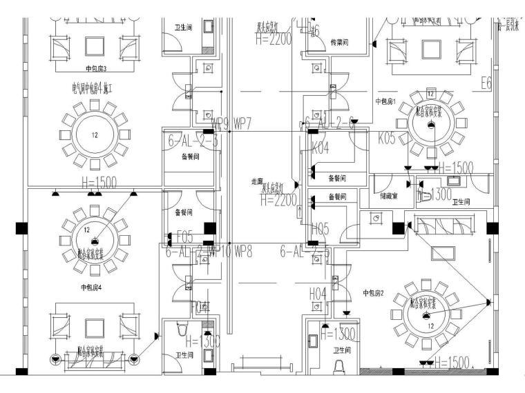 2013.08.14惠州建曙棕榈园会所强电图-Model4.jpg
