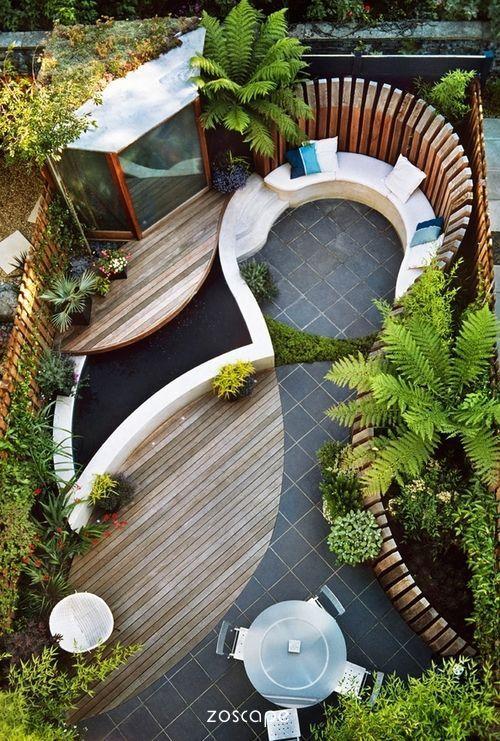 别墅庭院设计风格由花园主人决定