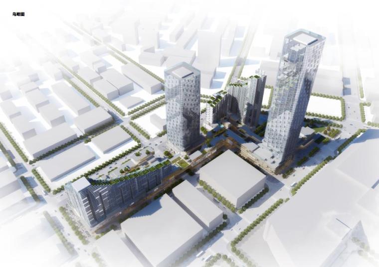 [深圳]超高层现代风格城市综合体级单体建筑设计方案文本