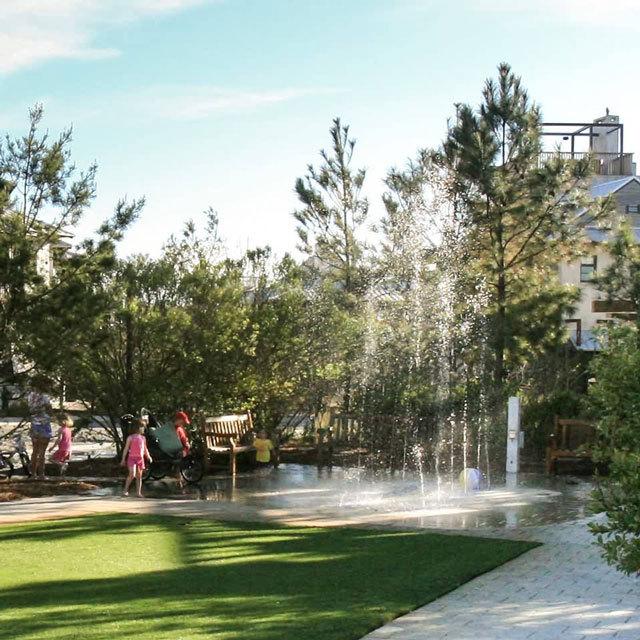 佛罗里达新城市主义社区公共景观设计_3