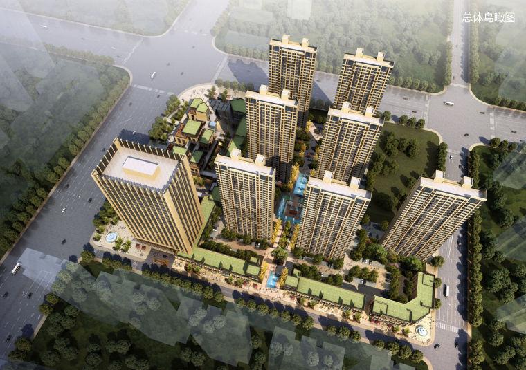 [安徽]合肥邻里市坊居住区建筑设计方案文本