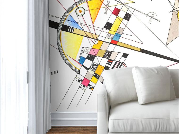 拒绝平庸,有什么墙纸可以比得上手绘的个性涂鸦墙呢?_4