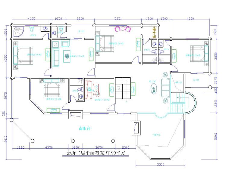 期待这样的木结构会所效果平面图建出来的木别墅会所效果
